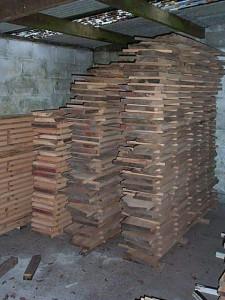 Bespoke Kitchen Timber Drying